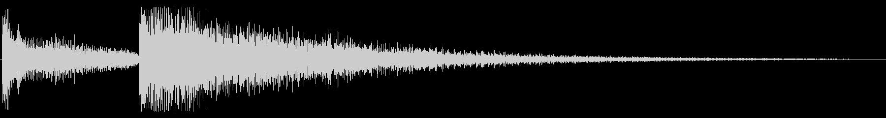 ピロン テレン ピロン 下降 トイピアノの未再生の波形