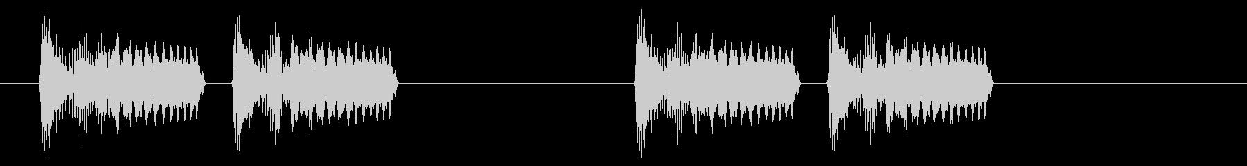 緊急アラート02-1の未再生の波形