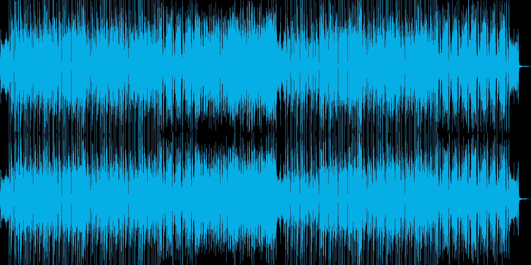琴・三味線 渋いR&Bポップ 長尺の再生済みの波形