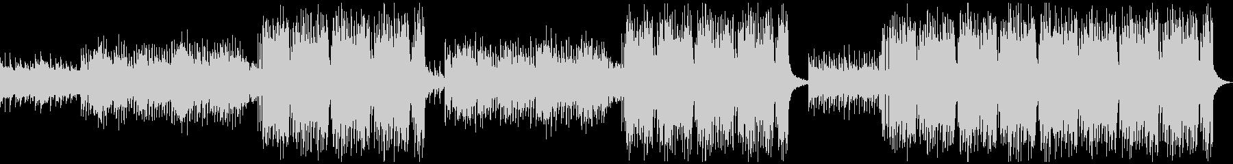 切ないリードメロディーのEDMの未再生の波形