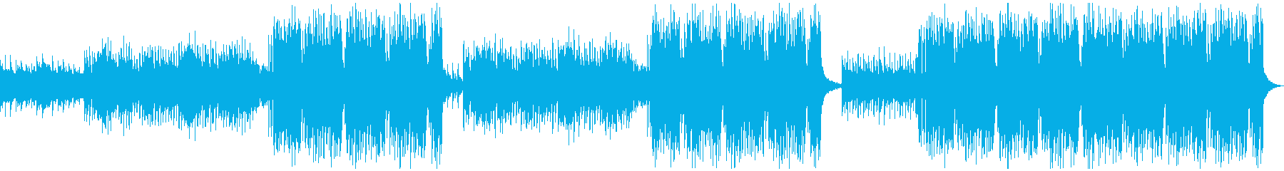 切ないリードメロディーのEDMの再生済みの波形