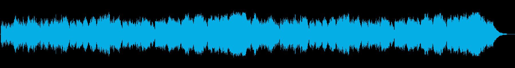 ティータイムに聴く癒やしの音楽の再生済みの波形