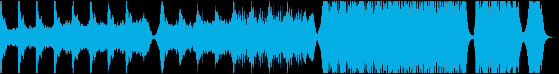 【予告編】映画・トレーラーの再生済みの波形