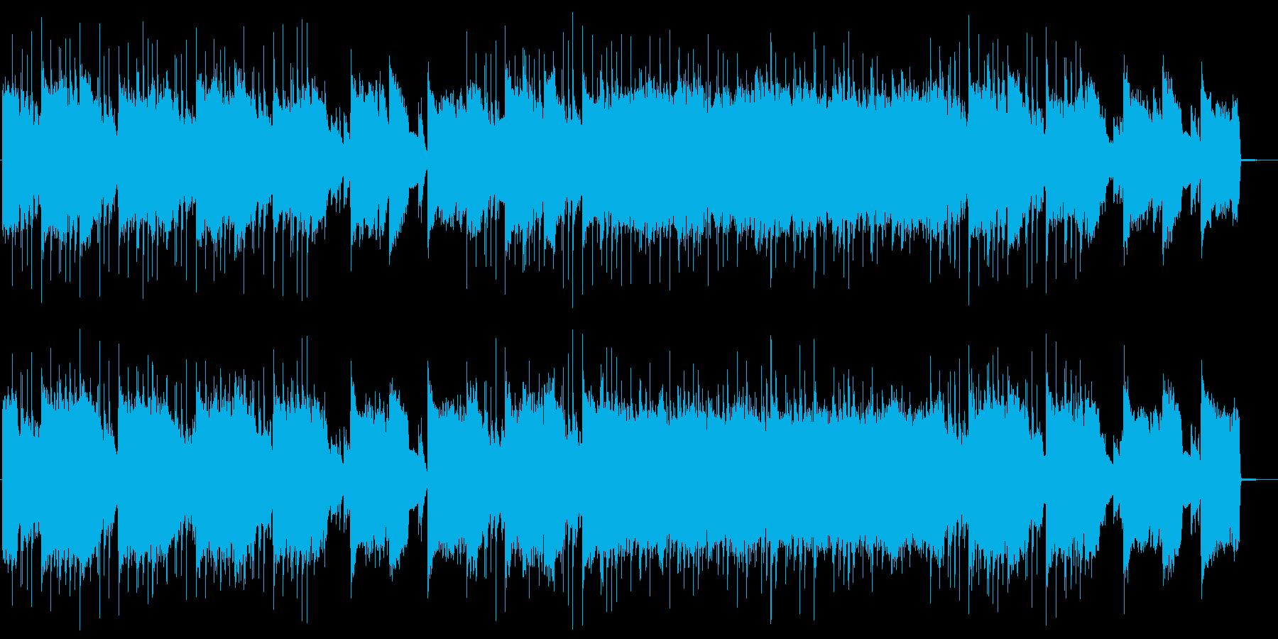 癒し系でおしゃれなローファイの再生済みの波形