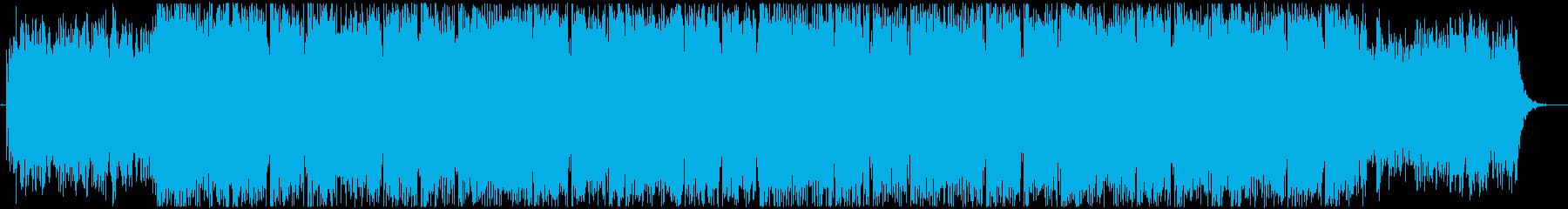 幻想的な世界観をイメージしたBGMの再生済みの波形