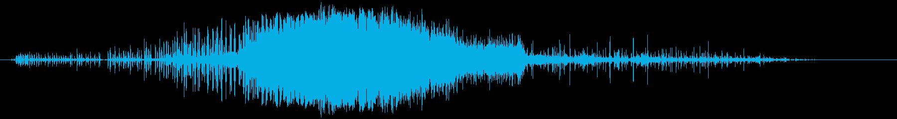 ジャイアントフラッドライトまたはサ...の再生済みの波形