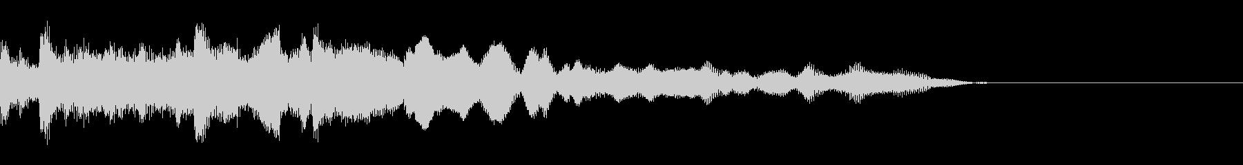 ニュース ラジオ テクノジングル12の未再生の波形