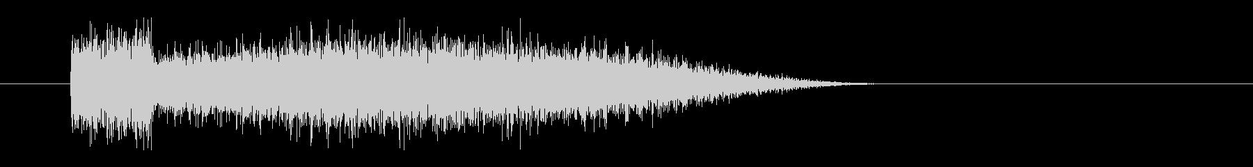 レーザー音-72-3の未再生の波形