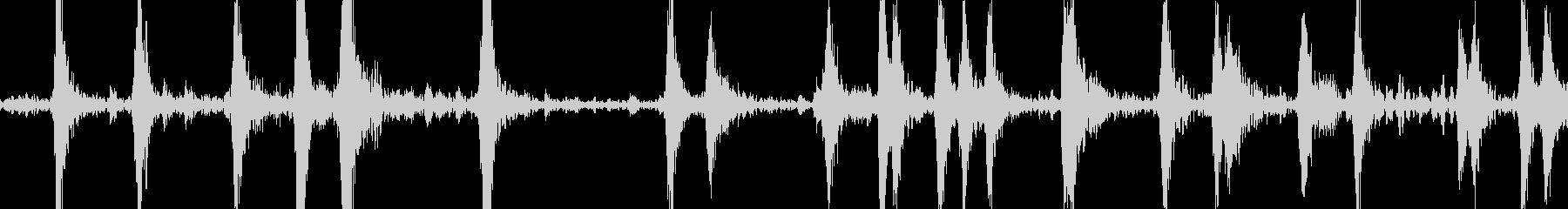 ハーバードプレーンエンジンの咳の開始の未再生の波形