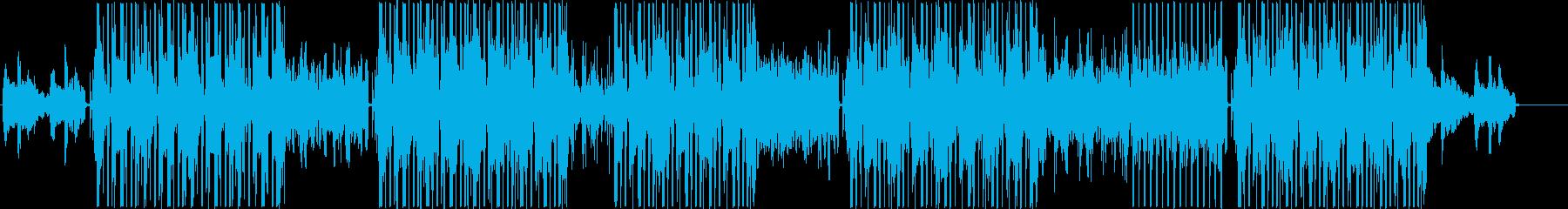 シンセウェーブ、ポップトラック♪の再生済みの波形