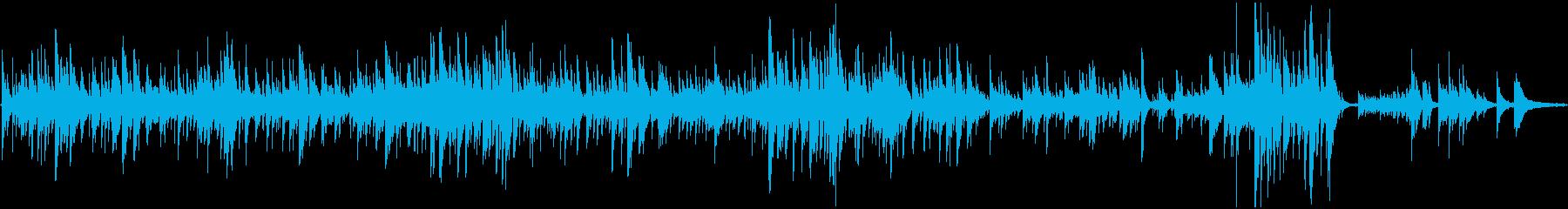 ギターで弾くショパンのノクターンの再生済みの波形