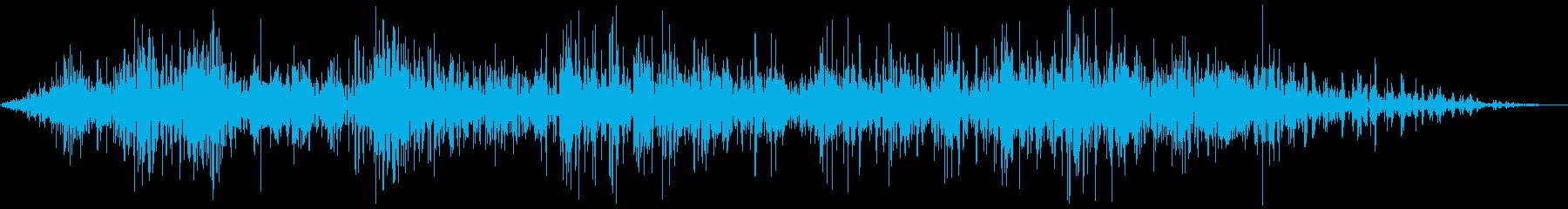 アンティークカー反転の再生済みの波形