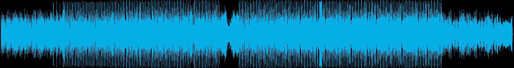優しいキレイおしゃれカワイイ・ピアノ曲の再生済みの波形