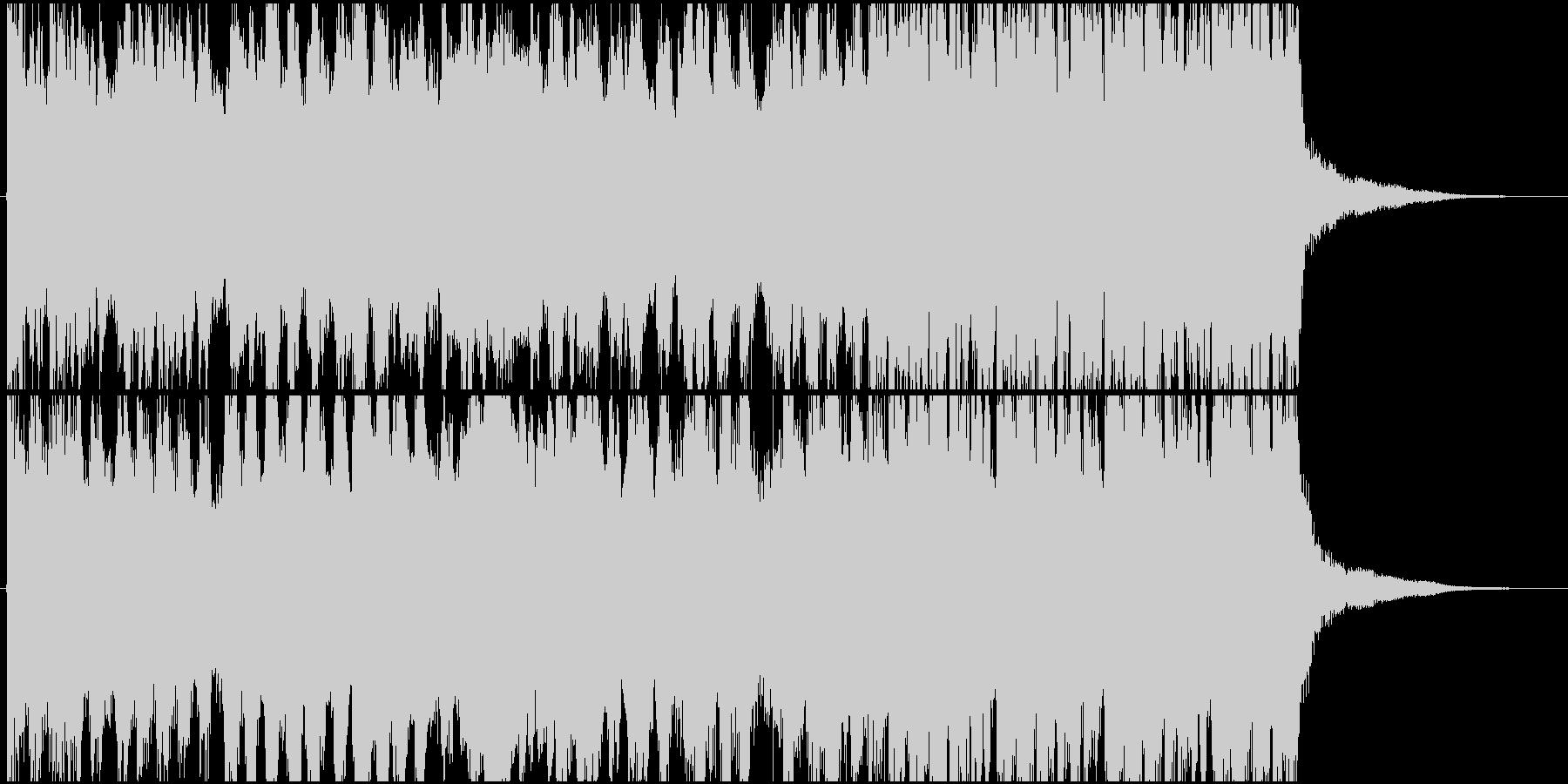 迫力のあるオーケストラ系ジングルの未再生の波形