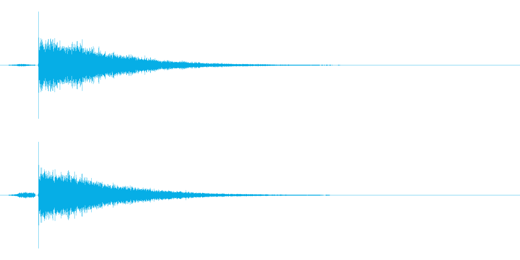 目がさめる感じの明るいサウンドロゴ の再生済みの波形