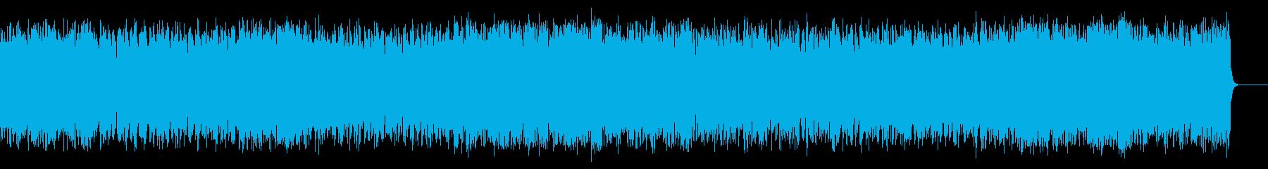 リゾート風の軽快なポップ(フルサイズ)の再生済みの波形