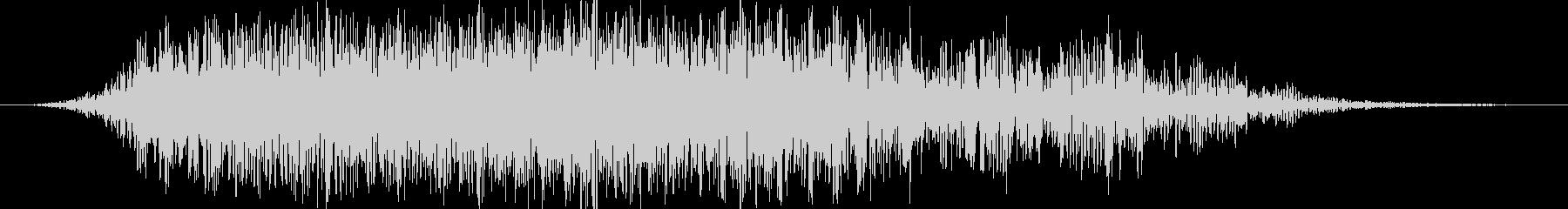 ゴゴゴゴゴ(地鳴り・地震の音)の未再生の波形
