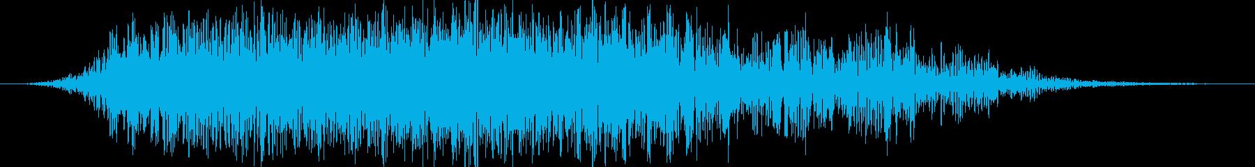 ゴゴゴゴゴ(地鳴り・地震の音)の再生済みの波形