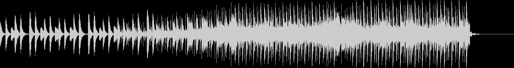 ピアノをメインにしたEDMです。の未再生の波形