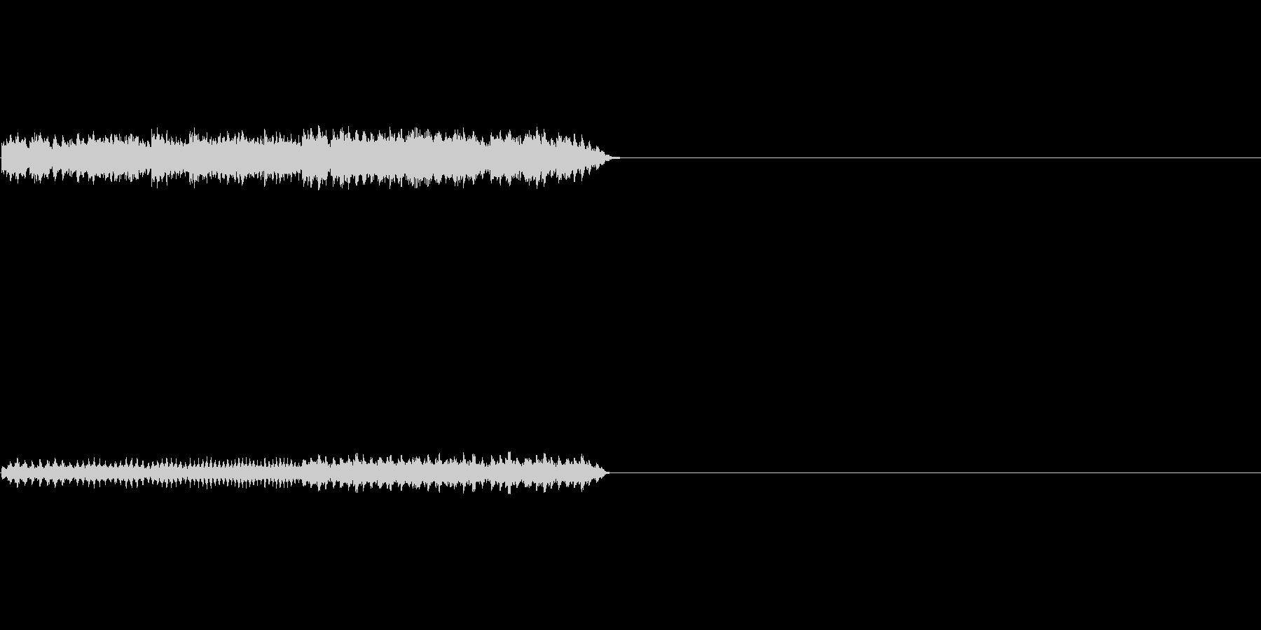 不思議なオルゴールの未再生の波形