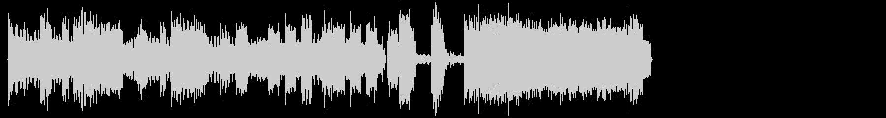 ファンファーレ(シンセのラッパ)の未再生の波形