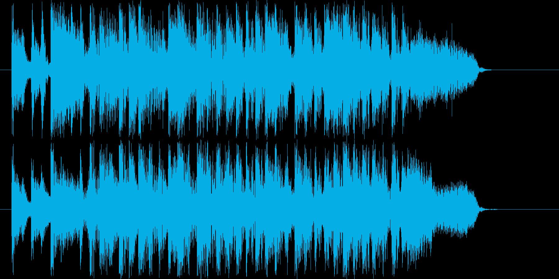 クール&グルーヴィなファンクサウンドロゴの再生済みの波形