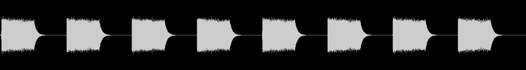 【効果音】警報音1の未再生の波形