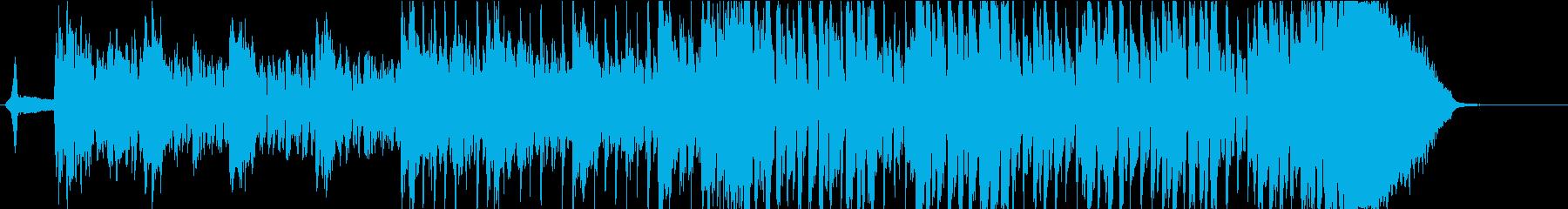 かっこよくて疾走感の尺八インスト:短縮版の再生済みの波形