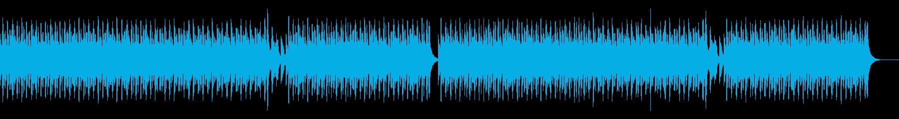 軽快で楽しい生演奏リコーダーの再生済みの波形