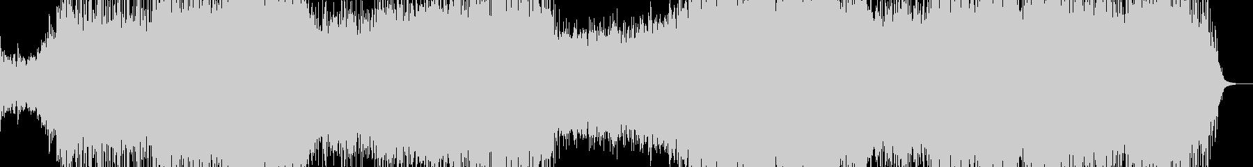 シンセティックなポップインストの未再生の波形