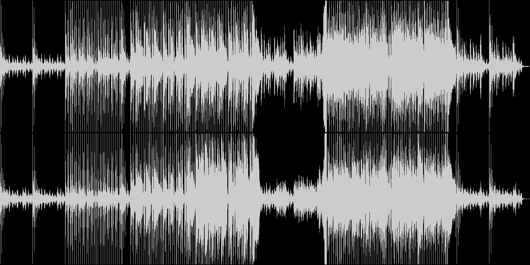 レトロ・ポップでチルでLoFiなBGMの未再生の波形