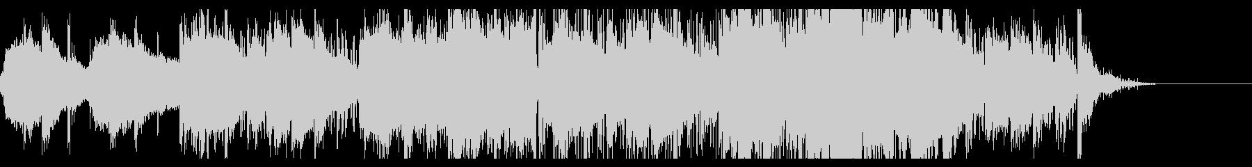 不気味なアンビエントIDMの未再生の波形