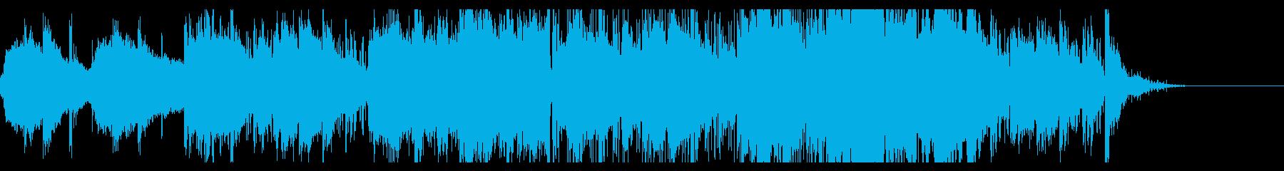 不気味なアンビエントIDMの再生済みの波形