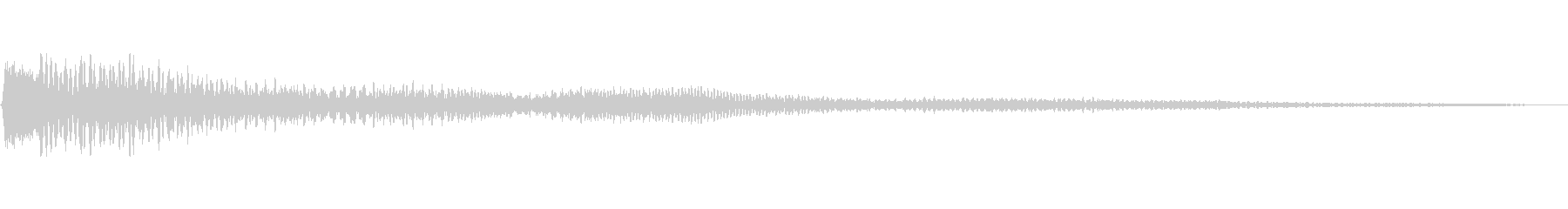 瞑想・幻想的・ハンドパン(タップ・通知)の未再生の波形