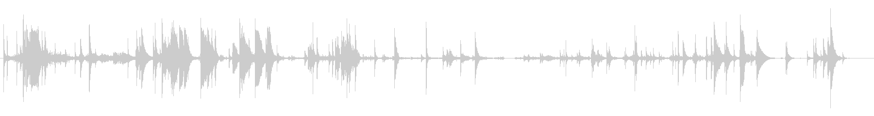 鎖・チェーンの効果音 02の未再生の波形