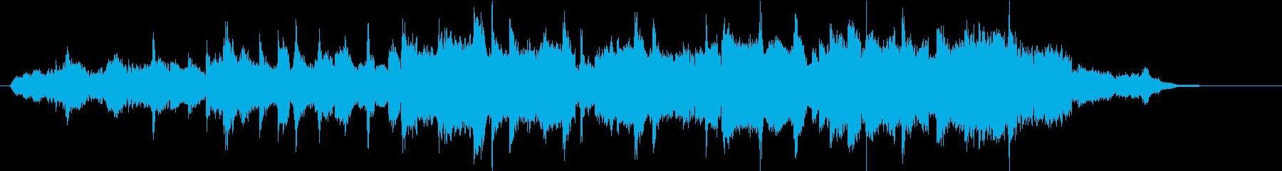 幻想的でムーディーなサックスの再生済みの波形