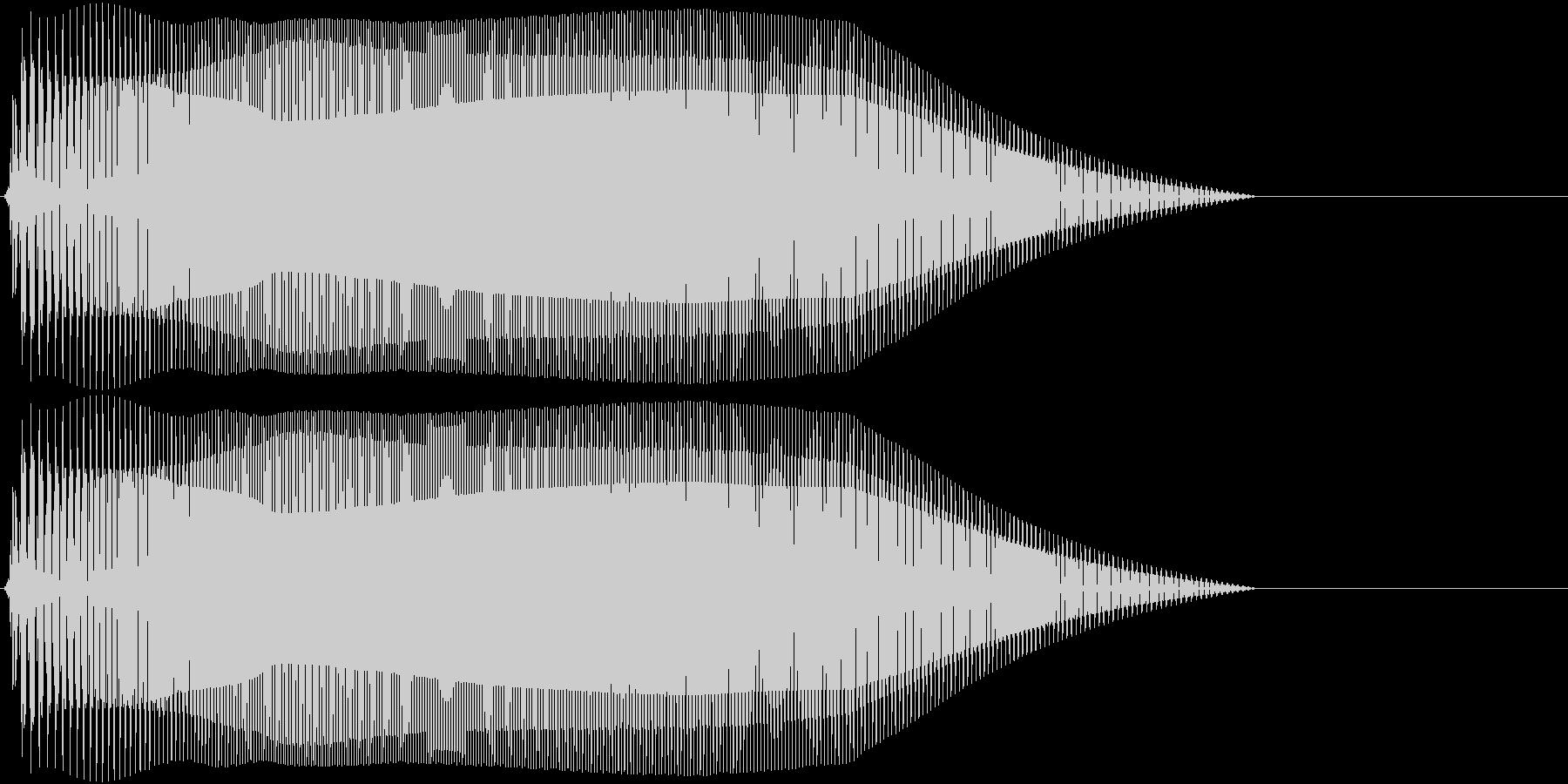 Game 横スクロール系ゲーム 効果音1の未再生の波形