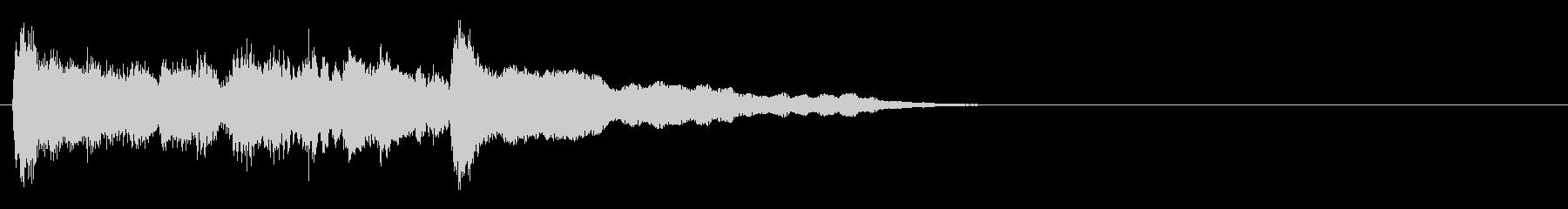 ジングル@エスニック:ガムラン#2の未再生の波形