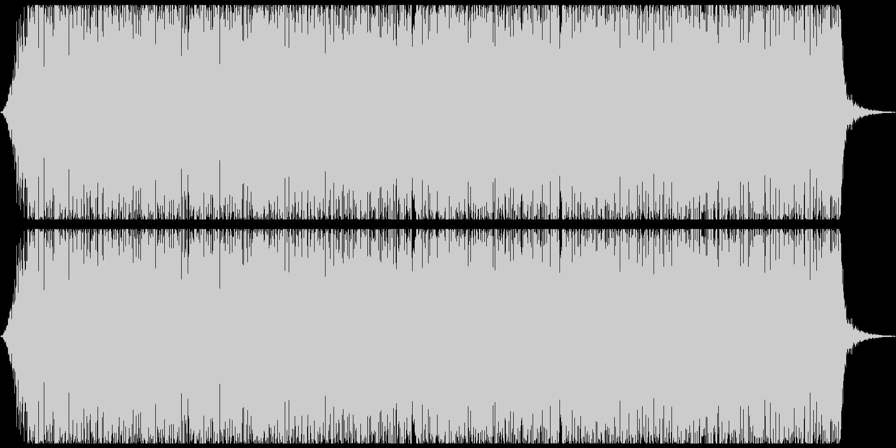ゴー(地震、地鳴りの音)の未再生の波形
