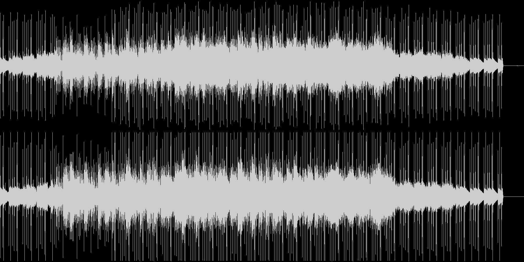 浮遊感のあるシンセとディープなリズムの未再生の波形