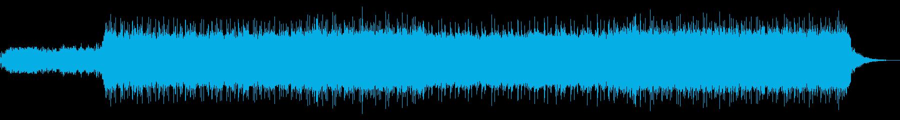 ポップで幻想的なTRAP!の再生済みの波形