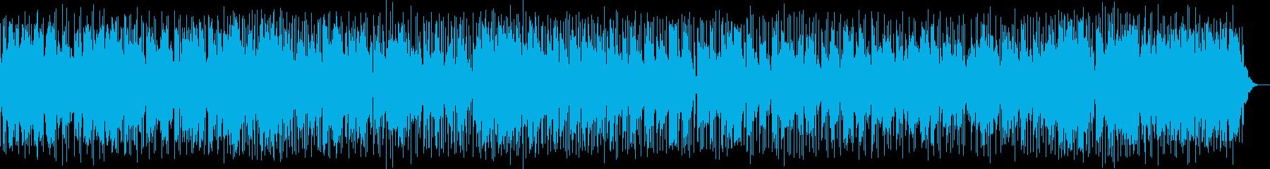 穏やかに優しく奏でるライト・ロックの再生済みの波形