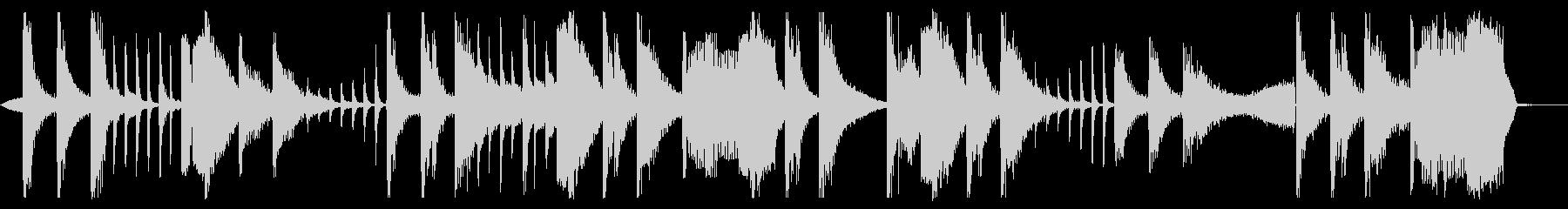 ホーンとシンセのエレクトロポップの未再生の波形
