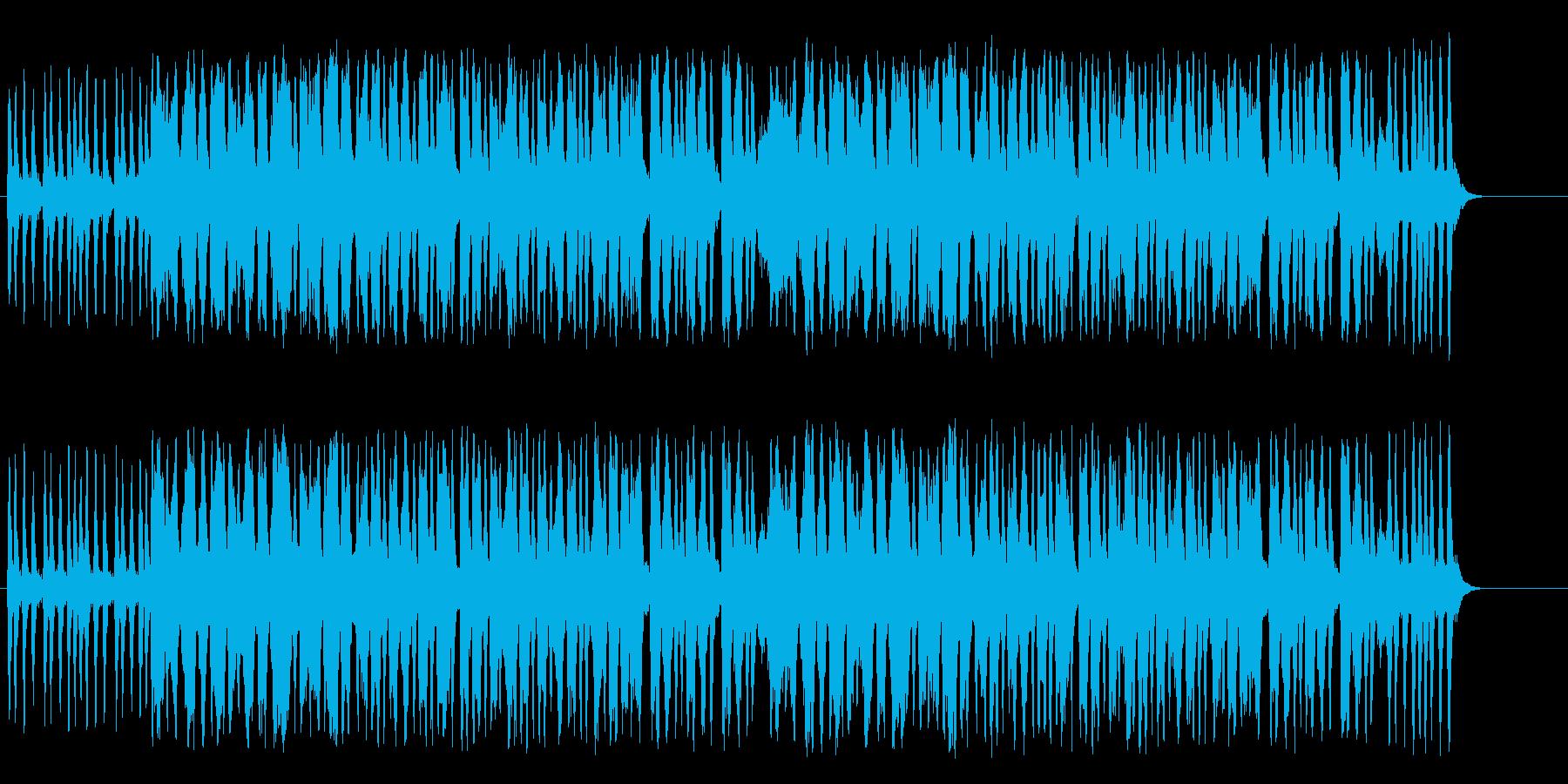 緊張した空気が漂う無機質なクラシックの再生済みの波形