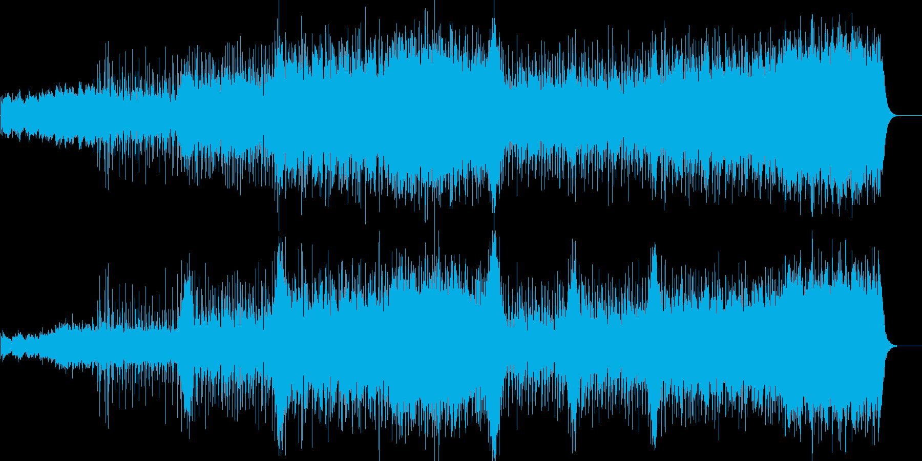 ポップ。さまざまな歌。静かで楽しい...の再生済みの波形