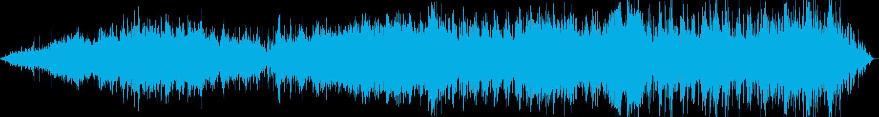 ギターの音を中心にのんびりForestの再生済みの波形