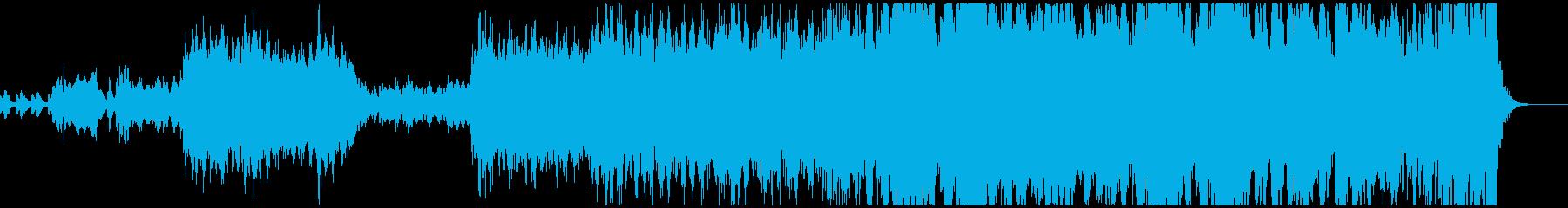 壮大なオーケストラサウンドの再生済みの波形