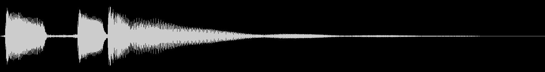 マンドリン:ショートファンファーア...の未再生の波形