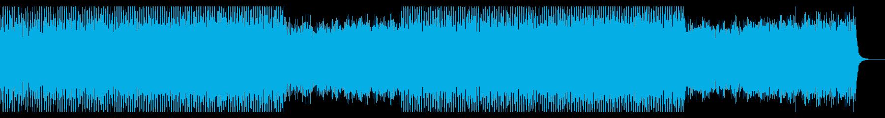 企業VPコーポレート透明感さわやかピアノの再生済みの波形