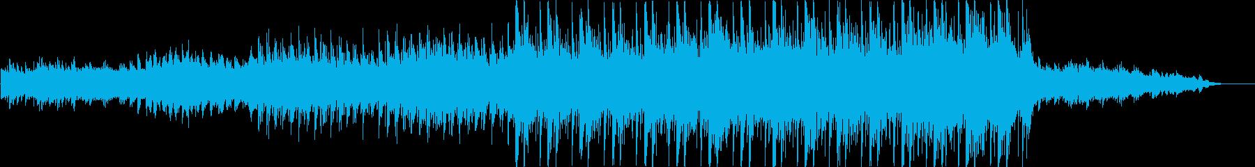 ドラマチックで緊張感のあるサウンドの再生済みの波形